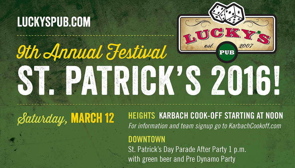 St. Patrick's Festival - Saturday Events
