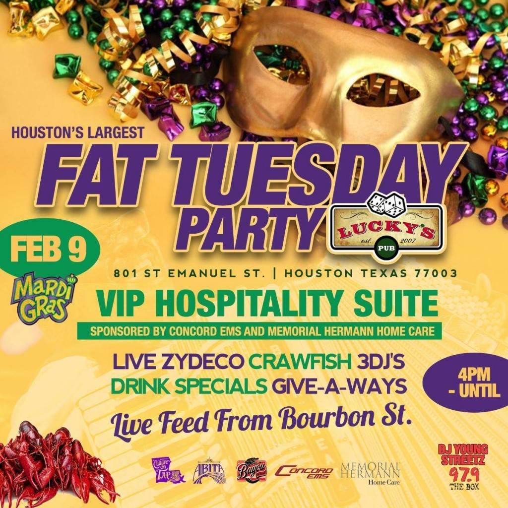 Fat Tuesday Party - 2016