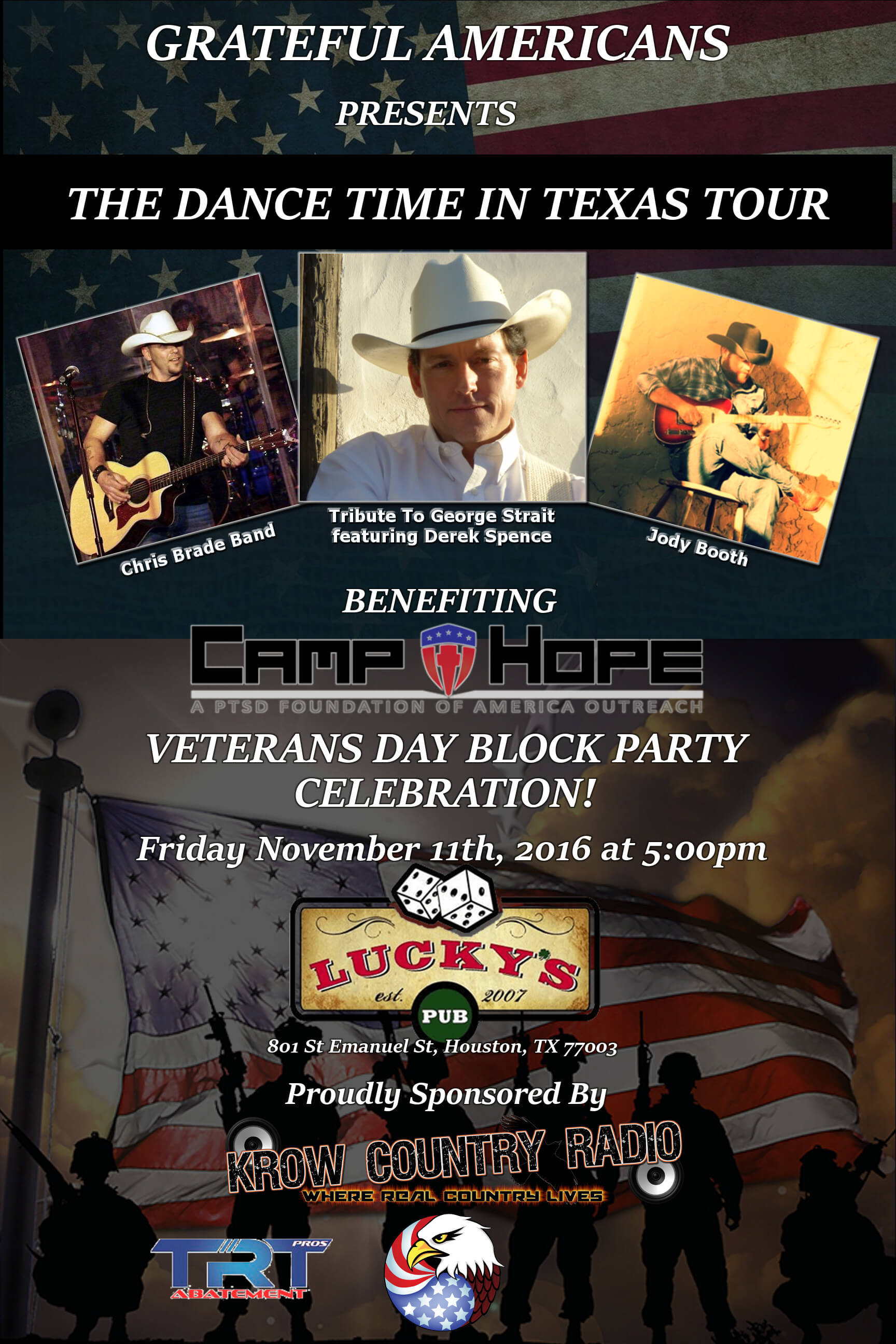 Veterans Block Party Celebration!